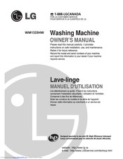 LG WM1333HW Owner's Manual