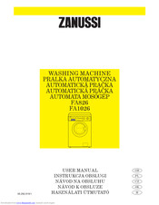 Zanussi FAE1025V User Manual