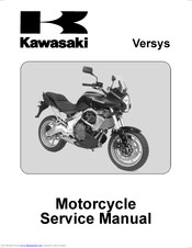 kawasaki versys 650 service manual free download