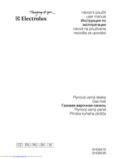 Electrolux EHG6415 User Manual