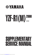 Yamaha YZF-R1M 2000 Supplementary Service Manual