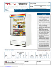 True TAC-48 Manuals | ManualsLib | True Tac 48 Wiring Diagram |  | ManualsLib