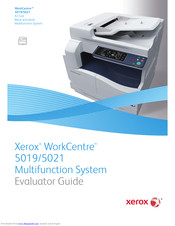 Xerox WorkCentre 5021D Specifications