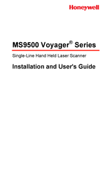 Honeywell VOYAGER MS9520–41 User Manual
