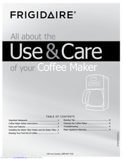 Frigidaire FPDC12D7MS Use & Care Manual