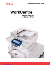 Xerox WorkCentre 7242 System Administrator Manual