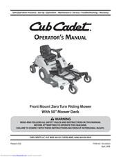 Cub Cadet Fmz50 Manuals Manualslib