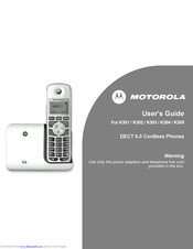 Motorola K301 User Manual