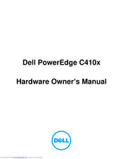 Dell PowerEdge C410X Hardware Owner's Manual