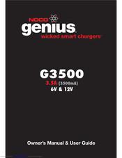 Noco Genius G3500 Genius Manuals