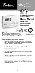 robert shaw thermostat wiring diagram robertshaw 9615 user manual pdf download  robertshaw 9615 user manual pdf download