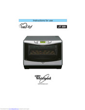 Whirlpool JT 359 Instructions For Use Manual