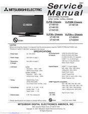Mitsubishi Electric LT-40134 Service Manual
