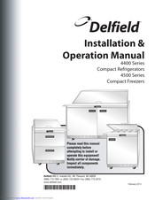[QMVU_8575]  Delfield UC4432N Manuals   ManualsLib   Delfield Freezer Wiring Diagram Mini      ManualsLib