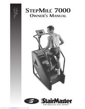 Stairmaster Stepmill 7000pt Manuals Manualslib