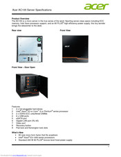 Acer AC100 Specifications