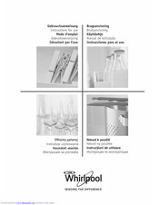 Whirlpool HOB Instructions For Use Manual