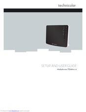TECHNICOLOR MEDIAACCESS TG589VN SETUP AND USER MANUAL Pdf