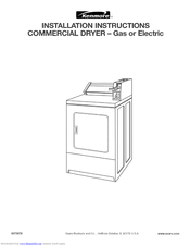 Kenmore 11066152500 Installation Instructions Manual