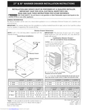 Frigidaire 79049202403 Installation Instructions Manual