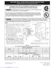 Frigidaire CGEW3065KBB Installation Instructions Manual