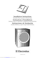 Electrolux EIMGD60JMB0 Installation Instructions Manual