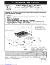 Electrolux E36GC76GPS2 Installation Instructions Manual