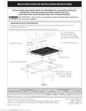 Electrolux E36IC75FSS1 Installation Instructions Manual