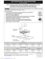 Electrolux E36GC70FSS1 Installation Instructions Manual