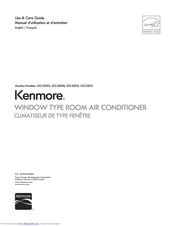 Kenmore 253.35005 Use & Care Manual