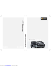 Smart fortwo cabriolet Operator's Manual