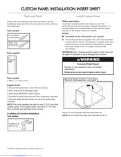 Kenmore 66512772K310 Installation Instructions Manual