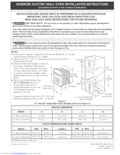 Kenmore 79048029800 Installation Instructions Manual