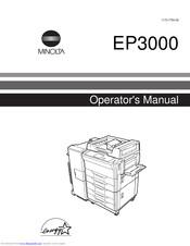 Minolta Ep3000 Manuals Manualslib
