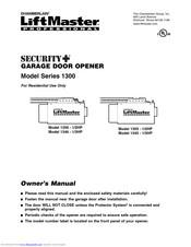 Chamberlain Liftmaster Security 1346 1 3hp Manuals Manualslib