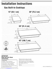 KitchenAid KGCS127GSS05 Installation Instructions Manual