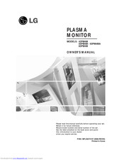 LG 50PM4MA Owner's Manual