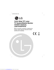 LG LAMN760 Owner's Manual