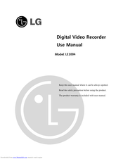 LG LE1004 Use Manual