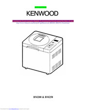 Kenwood BM200 series Instructions Manual