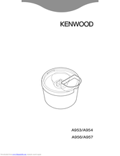 Kenwood A957 User Manual