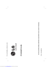 LG PC14DAB Owner's Manual