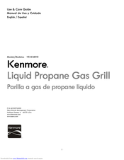 Kenmore 119.16148110 Use & Care Manual