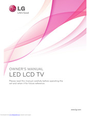 LG 32LW570W-ZD Owner's Manual
