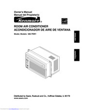 Kenmore Kenmore 580.75051 Owner's Manual