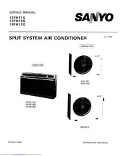 Sanyo 12FH12X Service Manual