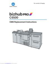 Konica Minolta Bizhub Pro C6500 Manuals Manualslib