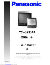 PANASONIC TC-21S3RP User Manual