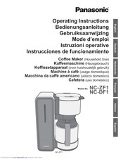 PANASONIC NC-DF1 Operating Instructions Manual