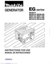 Makita EG301A Instructions For Use Manual